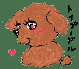 Healing dogs from fairy tale sticker #1092572