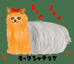 Healing dogs from fairy tale sticker #1092573