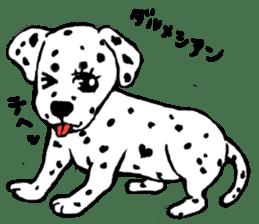 Healing dogs from fairy tale sticker #1092575