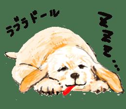 Healing dogs from fairy tale sticker #1092578