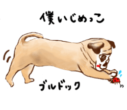 Healing dogs from fairy tale sticker #1092580