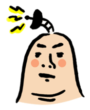 Thumb samurai sticker #1092719