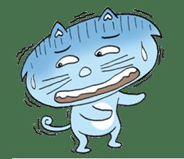 Naughty Cat Gang (English version) sticker #1095990
