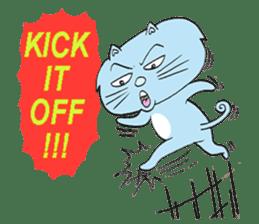 Naughty Cat Gang (English version) sticker #1095994