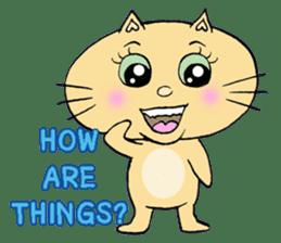 Naughty Cat Gang (English version) sticker #1095996