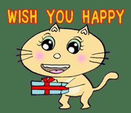 Naughty Cat Gang (English version) sticker #1096000