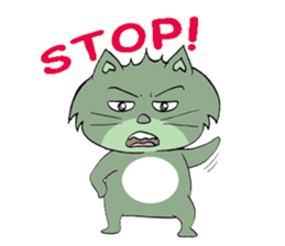 Naughty Cat Gang (English version) sticker #1096006