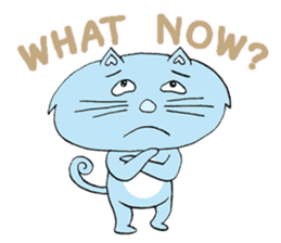 Naughty Cat Gang (English version) sticker #1096020