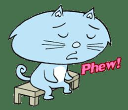 Naughty Cat Gang (English version) sticker #1096023