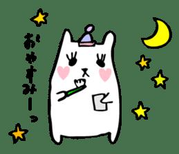 Marshmallow Bunny sticker #1096748