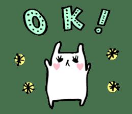 Marshmallow Bunny sticker #1096757