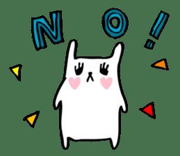 Marshmallow Bunny sticker #1096758