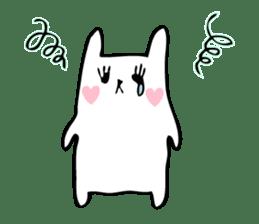 Marshmallow Bunny sticker #1096759
