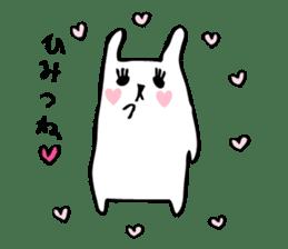 Marshmallow Bunny sticker #1096760
