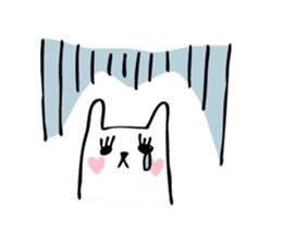 Marshmallow Bunny sticker #1096761