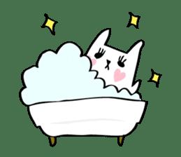Marshmallow Bunny sticker #1096764