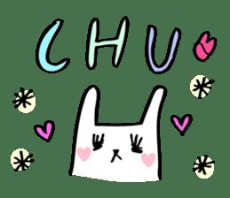 Marshmallow Bunny sticker #1096778