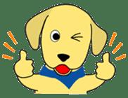 Yellow Lab Ponta sticker #1097226
