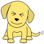 Yellow Lab Ponta sticker #1097230