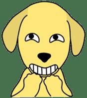 Yellow Lab Ponta sticker #1097231