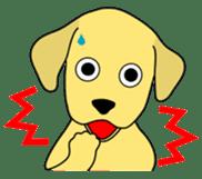 Yellow Lab Ponta sticker #1097233