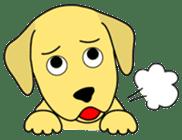 Yellow Lab Ponta sticker #1097234