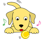Yellow Lab Ponta sticker #1097236