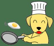 Yellow Lab Ponta sticker #1097244