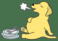 Yellow Lab Ponta sticker #1097245