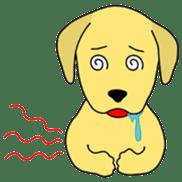 Yellow Lab Ponta sticker #1097246