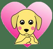 Yellow Lab Ponta sticker #1097254