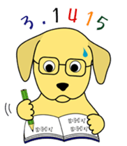 Yellow Lab Ponta sticker #1097259