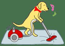 Yellow Lab Ponta sticker #1097261