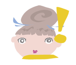 Maya-Chan Bun head vol.2 sticker #1097610