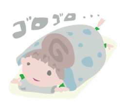 Maya-Chan Bun head vol.2 sticker #1097612