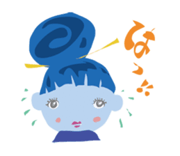 Maya-Chan Bun head vol.2 sticker #1097618