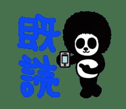BOMBER PANDA sticker #1097869