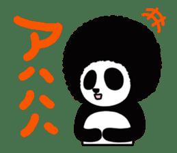 BOMBER PANDA sticker #1097875