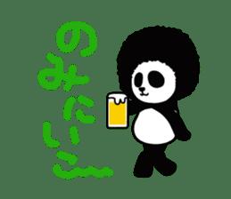 BOMBER PANDA sticker #1097878