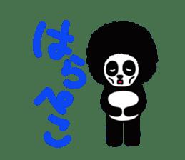 BOMBER PANDA sticker #1097881