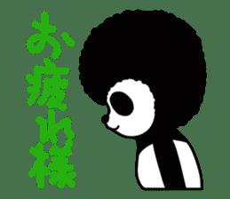BOMBER PANDA sticker #1097890