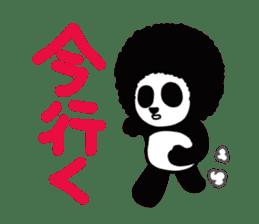 BOMBER PANDA sticker #1097891
