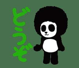 BOMBER PANDA sticker #1097895