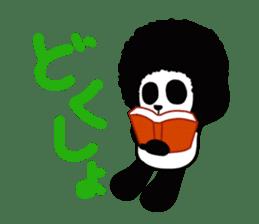BOMBER PANDA sticker #1097896