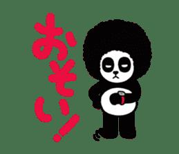 BOMBER PANDA sticker #1097905