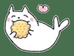 Cat Seal Sticker sticker #1098030