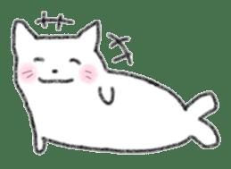 Cat Seal Sticker sticker #1098035