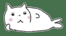 Cat Seal Sticker sticker #1098038