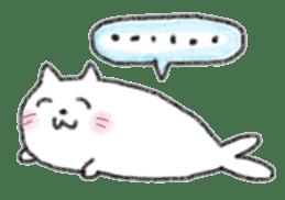 Cat Seal Sticker sticker #1098043