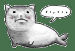 Cat Seal Sticker sticker #1098044